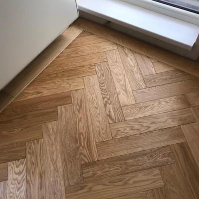 finálny detail podlahy